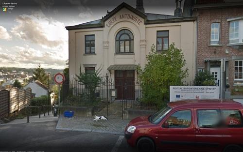 Temple de Verviers - extérieur (Google StreetView)
