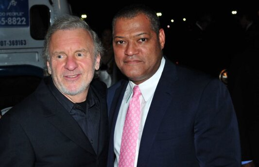 Colm Wilkinson et Laurence Fishburne National Memorial Day 2009