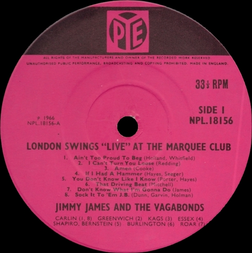 "Jimmy James & The Vagabonds : CD "" Ain't Love Good , Ain't Love Proud "" SB Records DP 108 [ FR ] 2019"