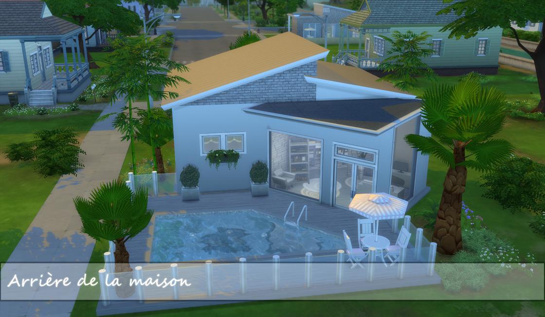 Studio moderne (avec piscine)