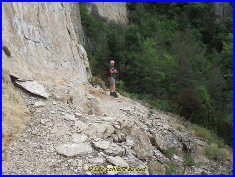 Gorges du Tarn les échelles de Cinglegros
