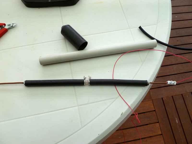 Une double bazooka 446 MHz