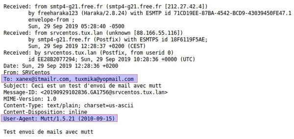 Envoyer des mails en ligne de commandes avec mutt