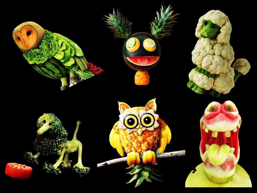 « Légumes rigolos pour enfants difficiles »