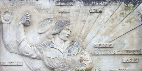 """""""A la mémoire du sergent-chef Iturria"""""""
