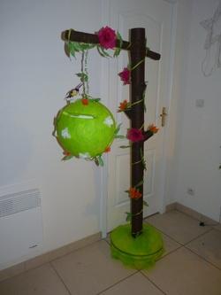 Urne arbre fleurs