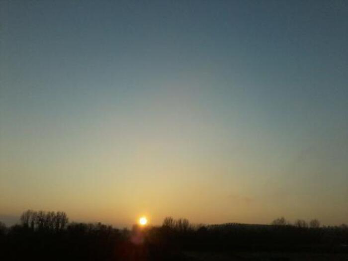 Mon ciel hier soir