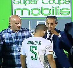 Supercoupe d'Algérie 2016  USM Alger-MCA 2-0