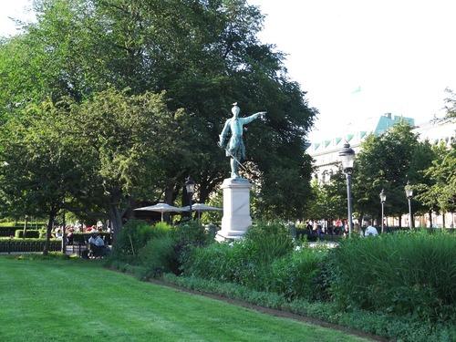 Stockholm: autour du Théâtre dramatique royal et de l'Opéra (photos)