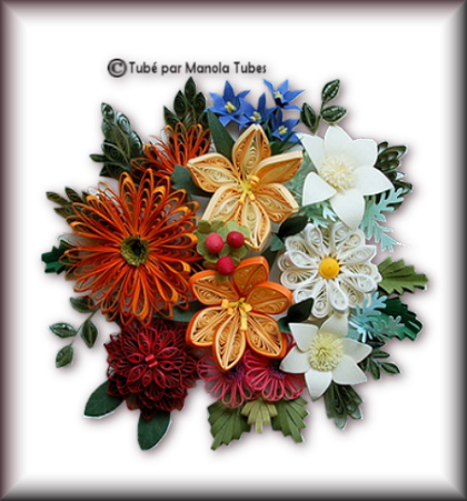 Tubes Quilling Arts floral 2990