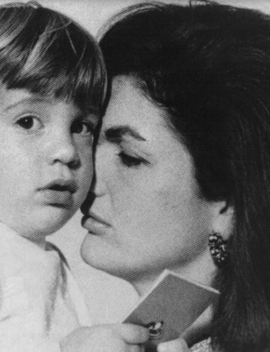 *JFK jr. AND JACKIE: