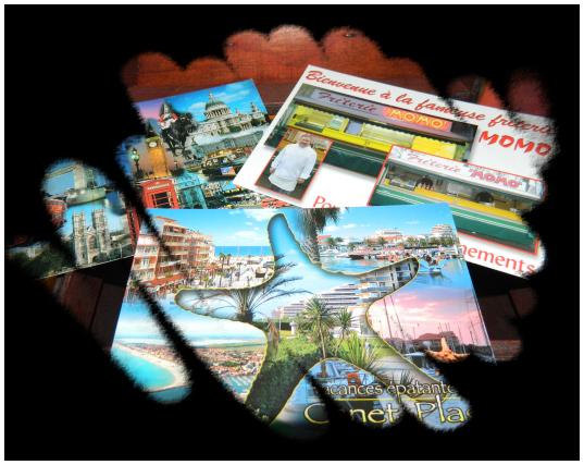 Envoi de cartes postales