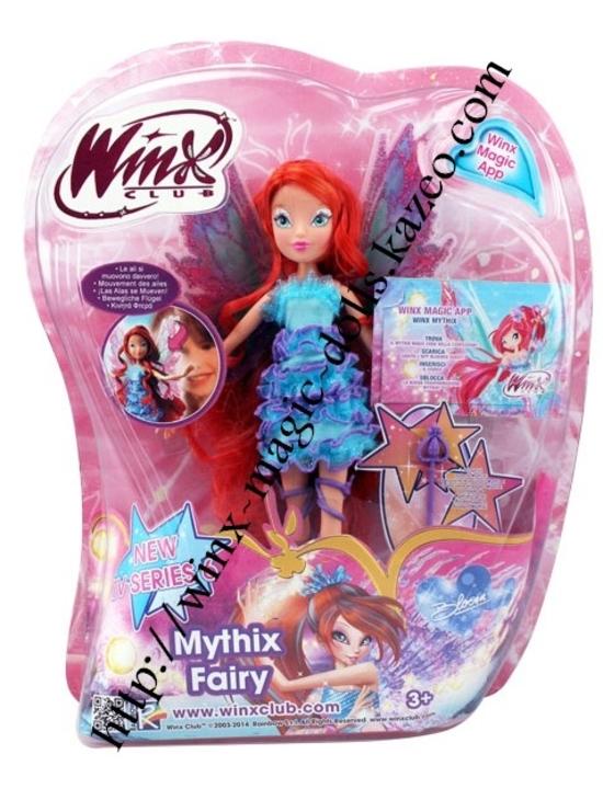 poupée Bloom mythix en boîte
