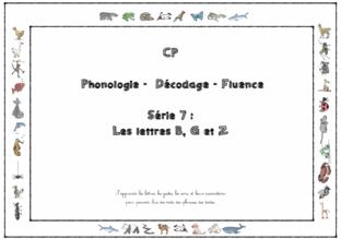 Lecture CP série 7