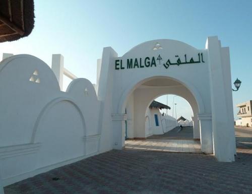Autre entrée à l'arrière de l'hôtel, celle-ci vers la ville d'Ajim.