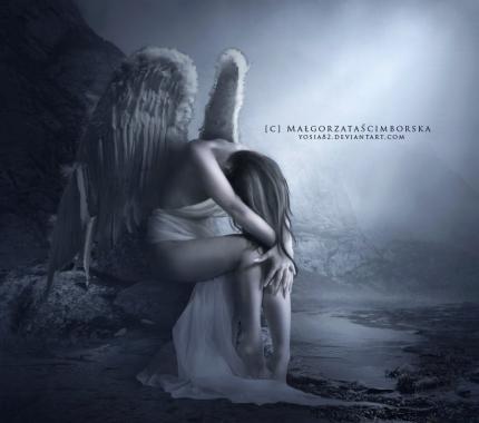Ange Qui Pleure un ange pleure - loëtiga