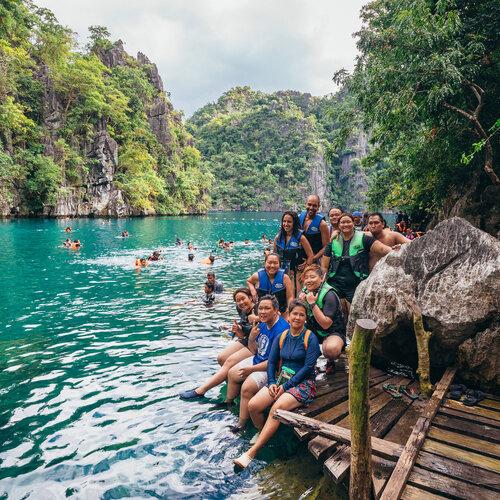 PHILIPPINES. CORON. PALAWAN (Voyages)