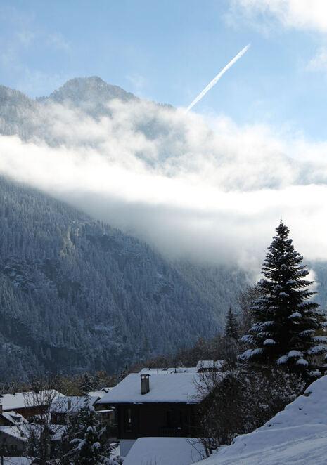 Bienvenue la neige...