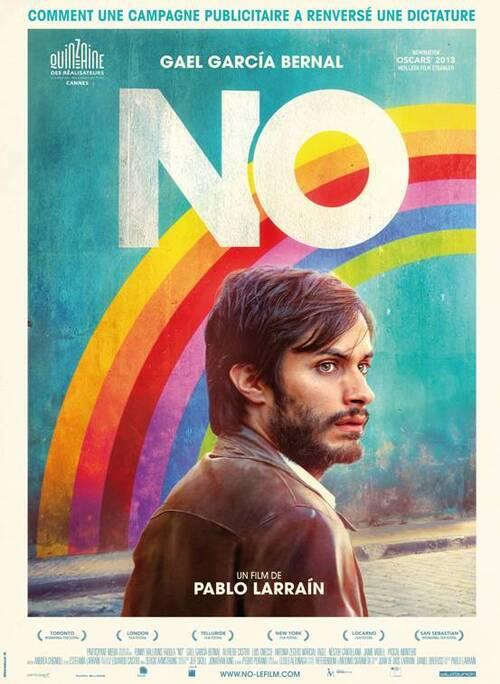 (Ciné) - NO - Comment une campagne publicitaire a renversé une dictature.