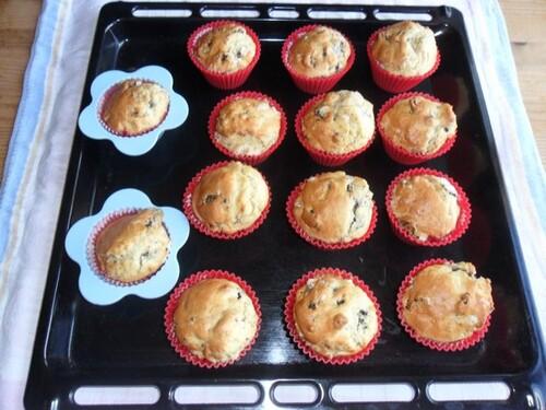*** Muffins aux Oréo ***