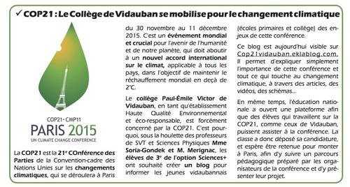 La presse de Vidauban parle de nous!