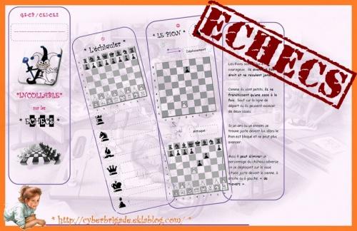 * Le jeu d'échecs *