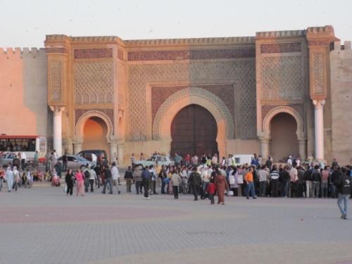 PHOTOS DU PAYS: MEKNES (Bab Mansour)