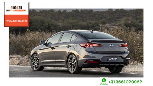 Location de voiture Berline à Casablanca – Location Hyundai Elantra à casablanca