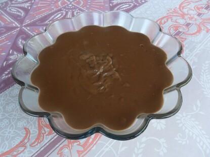 *** Crème Maïzena au chocolat ***