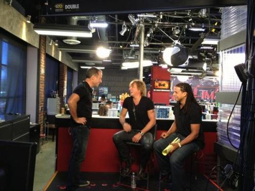 "Richie Sambora au "" TMZ live "" 06/11/2012"