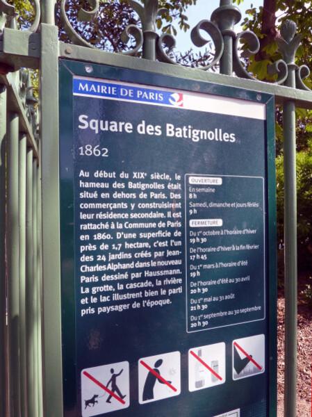34 - Square des Batignoles
