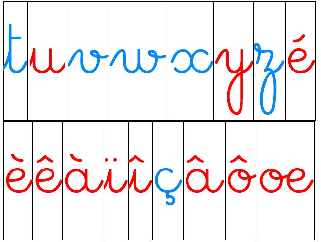 Beliebt Lettres mobiles Montessori - idecole VG14