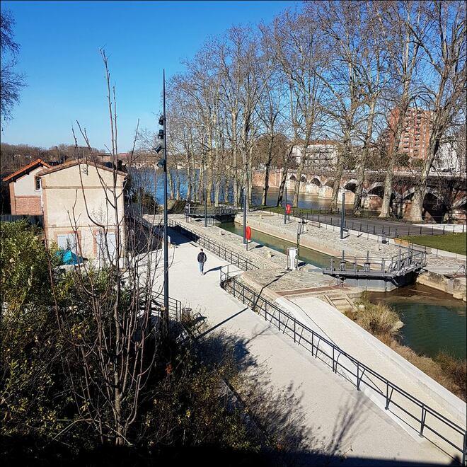 Ecluse sur Garonne