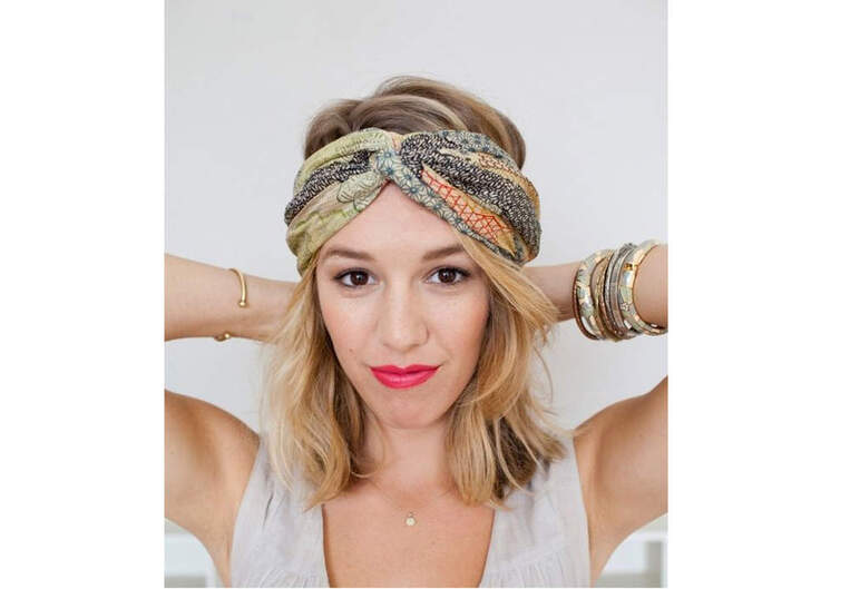 Le foulard-bandeau