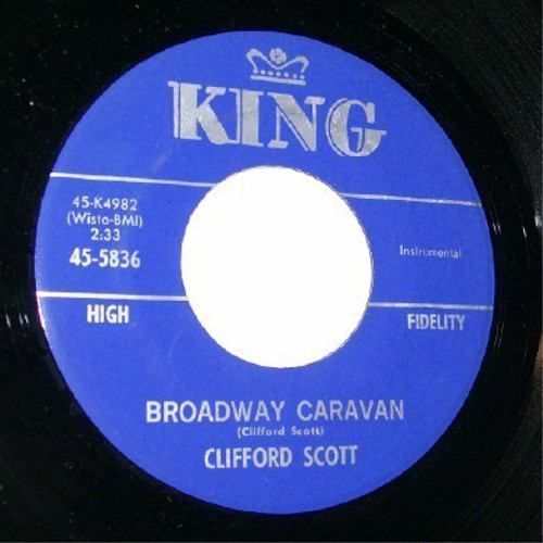 CLIFFORD SCOTT - Brodway caravan