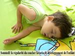 Sommeil : la régularité du coucher favorise le développement de l'enfant