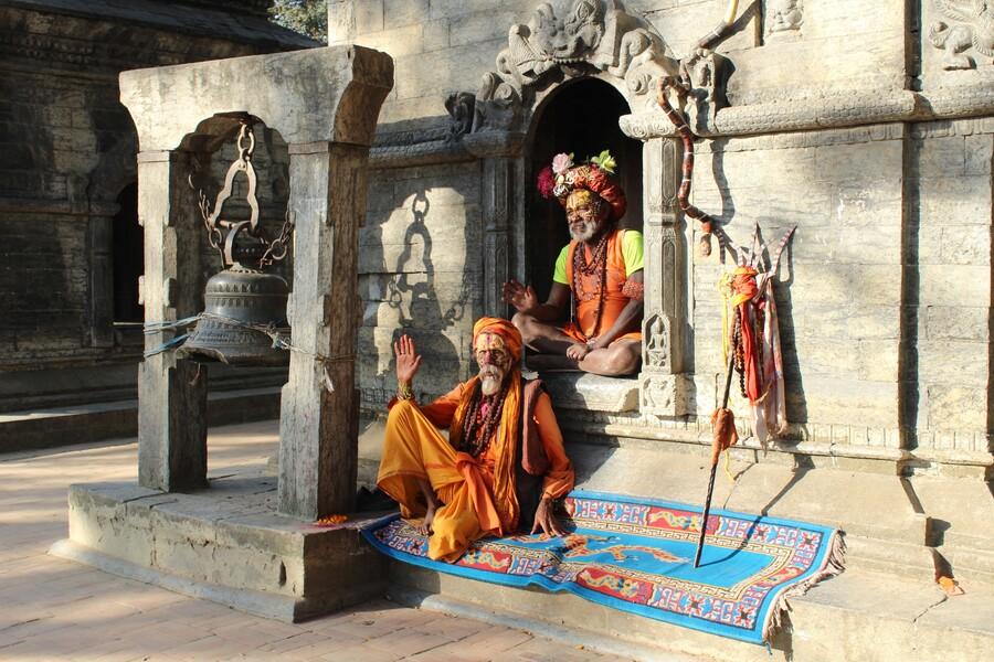 Temple de Pashupatinath - Népal