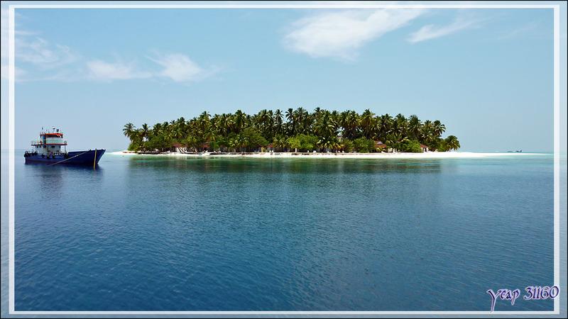 Retour à Thudufushi - Atoll d'Ari - Maldives