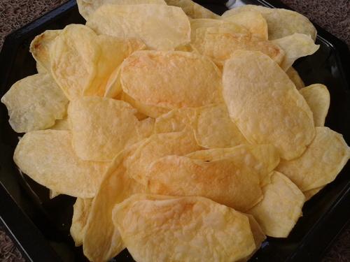 chips maison au micro onde