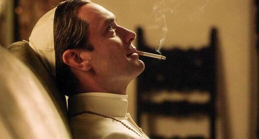 Jude Law dans la série «The Young Pope» (illustration)./ - Capture d'écran/The Young Pope