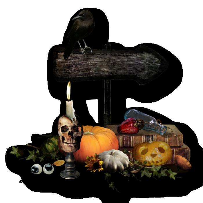 cluster halloween 3