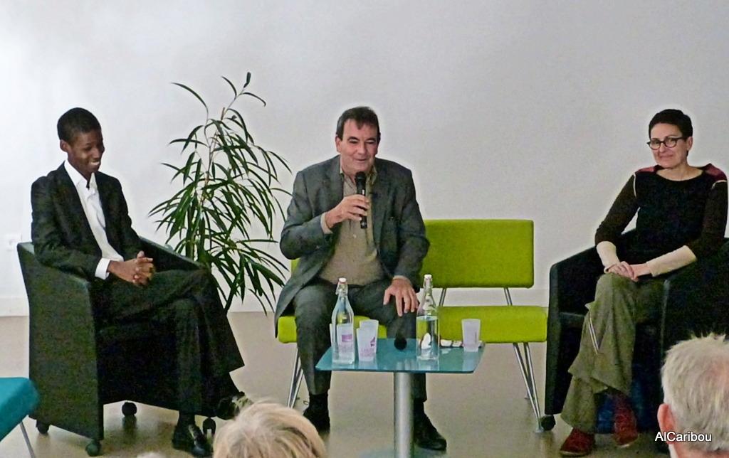 Hamidou Anne, Pierre Janin, Florence Gendrier