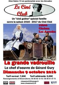 9 octobre,  La Grande Vadrouille ouvre le Ciné Club
