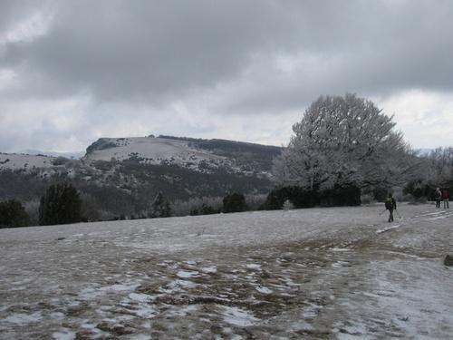 6 Mars 2012- Serre Gros depuis le Poët Laval