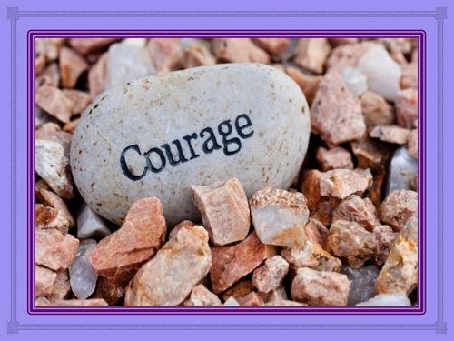 Garde courage !