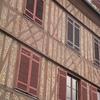brique et pans de bois à Quillebeuf