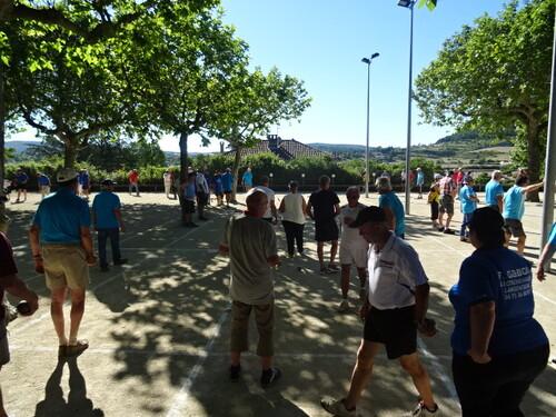 Agréable journée au vétérans de Villeneuve de Berg