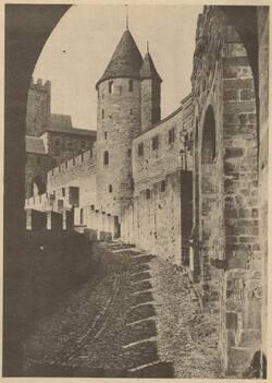 La Cité avant les restaurations du XIXème siècle