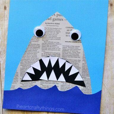 """Idée Pinterest : """"newpaper craft"""""""