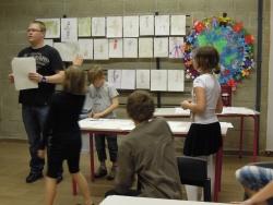 Effervescence dans les ateliers!  mai 2012